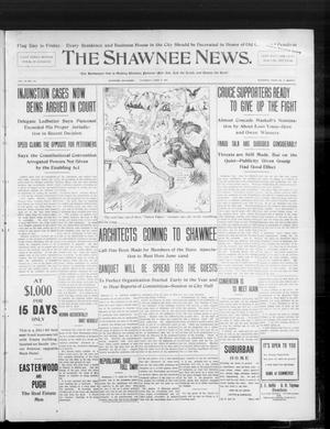 Primary view of object titled 'The Shawnee News. (Shawnee, Okla.), Vol. 10, No. 151, Ed. 1 Thursday, June 13, 1907'.