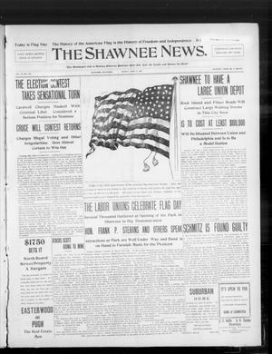 Primary view of object titled 'The Shawnee News. (Shawnee, Okla.), Vol. 10, No. 152, Ed. 1 Friday, June 14, 1907'.