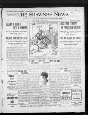 Primary view of object titled 'The Shawnee News. (Shawnee, Okla.), Vol. 10, No. 154, Ed. 1 Monday, June 17, 1907'.