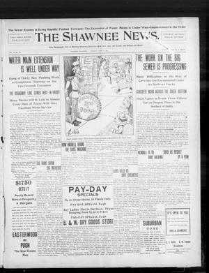 Primary view of object titled 'The Shawnee News. (Shawnee, Okla.), Vol. 10, No. 155, Ed. 1 Tuesday, June 18, 1907'.