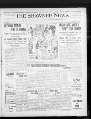 Primary view of object titled 'The Shawnee News. (Shawnee, Okla.), Vol. 10, No. 157, Ed. 1 Thursday, June 20, 1907'.