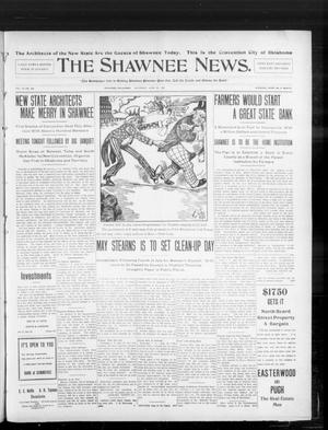 Primary view of object titled 'The Shawnee News. (Shawnee, Okla.), Vol. 10, No. 159, Ed. 1 Saturday, June 22, 1907'.