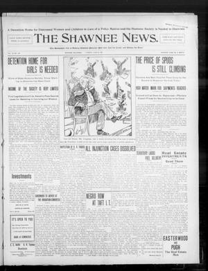 Primary view of object titled 'The Shawnee News. (Shawnee, Okla.), Vol. 10, No. 160, Ed. 1 Tuesday, June 25, 1907'.