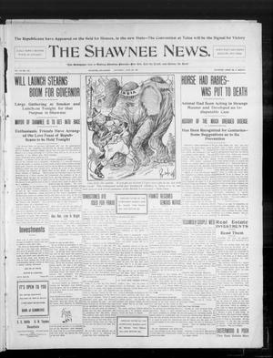 Primary view of object titled 'The Shawnee News. (Shawnee, Okla.), Vol. 10, No. 164, Ed. 1 Saturday, June 29, 1907'.