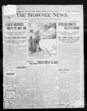 Primary view of object titled 'The Shawnee News. (Shawnee, Okla.), Vol. 10, No. 165, Ed. 1 Monday, July 1, 1907'.