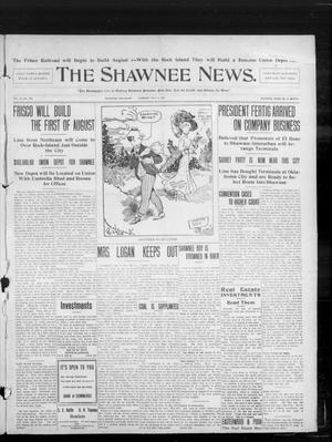 Primary view of object titled 'The Shawnee News. (Shawnee, Okla.), Vol. 10, No. 166, Ed. 1 Tuesday, July 2, 1907'.