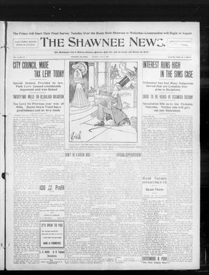 Primary view of object titled 'The Shawnee News. (Shawnee, Okla.), Vol. 10, No. 170, Ed. 1 Monday, July 8, 1907'.