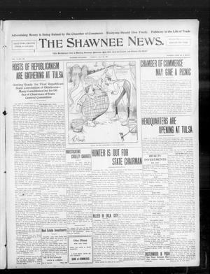 Primary view of object titled 'The Shawnee News. (Shawnee, Okla.), Vol. 10, No. 189, Ed. 1 Tuesday, July 30, 1907'.