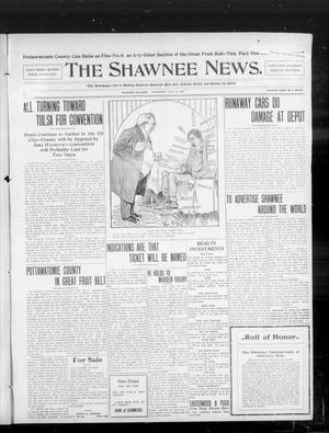 Primary view of object titled 'The Shawnee News. (Shawnee, Okla.), Vol. 10, No. 190, Ed. 1 Wednesday, July 31, 1907'.