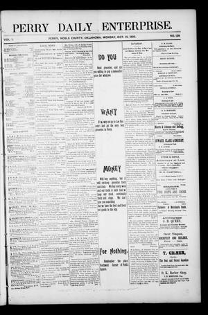 Perry Daily Enterprise. (Perry, Okla.), Vol. 1, No. 139, Ed. 1 Monday, October 14, 1895