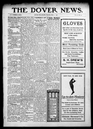 Primary view of object titled 'The Dover News. (Dover, Okla.), Vol. 7, No. 10, Ed. 1 Thursday, May 2, 1907'.