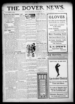 Primary view of object titled 'The Dover News. (Dover, Okla.), Vol. 7, No. 13, Ed. 1 Thursday, May 23, 1907'.