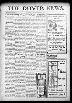 Primary view of object titled 'The Dover News. (Dover, Okla.), Vol. 7, No. 14, Ed. 1 Thursday, May 30, 1907'.