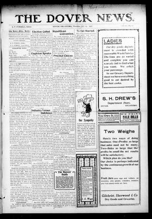 Primary view of object titled 'The Dover News. (Dover, Okla.), Vol. 7, No. 22, Ed. 1 Thursday, July 25, 1907'.