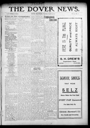 Primary view of object titled 'The Dover News. (Dover, Okla.), Vol. 7, No. 27, Ed. 1 Thursday, August 29, 1907'.