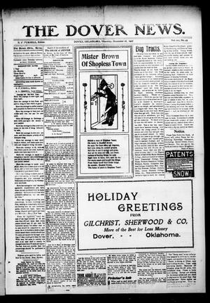 Primary view of object titled 'The Dover News. (Dover, Okla.), Vol. 7, No. 44, Ed. 1 Thursday, December 26, 1907'.