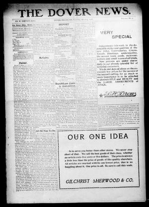 Primary view of object titled 'The Dover News. (Dover, Okla.), Vol. 8, No. 3, Ed. 1 Thursday, March 5, 1908'.