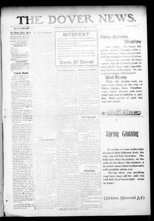 Primary view of object titled 'The Dover News. (Dover, Okla.), Vol. 8, No. 6, Ed. 1 Thursday, March 26, 1908'.
