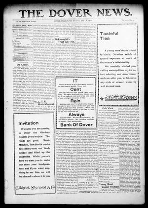 Primary view of object titled 'The Dover News. (Dover, Okla.), Vol. 8, No. 20, Ed. 1 Thursday, July 2, 1908'.