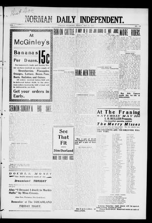 Norman Daily Independent. (Norman, Okla.), Vol. 1, No. 119, Ed. 1 Friday, May 21, 1909