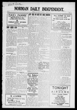 Norman Daily Independent. (Norman, Okla.), Vol. 1, No. 147, Ed. 1 Monday, June 21, 1909