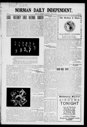 Norman Daily Independent. (Norman, Okla.), Vol. 1, No. 150, Ed. 1 Thursday, June 24, 1909