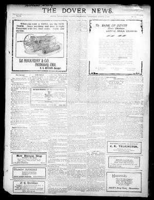 Primary view of object titled 'The Dover News. (Dover, Okla.), Vol. 11, No. 22, Ed. 1 Thursday, August 3, 1911'.