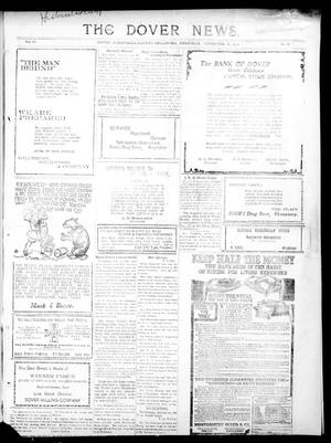 Primary view of object titled 'The Dover News. (Dover, Okla.), Vol. 11, No. 37, Ed. 1 Thursday, November 16, 1911'.