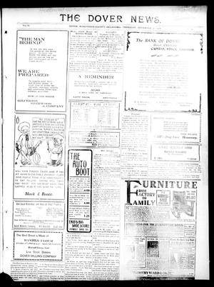Primary view of object titled 'The Dover News. (Dover, Okla.), Vol. 11, No. 39, Ed. 1 Thursday, November 30, 1911'.