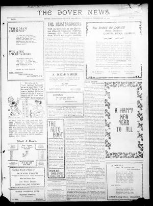 Primary view of object titled 'The Dover News. (Dover, Okla.), Vol. 11, No. 43, Ed. 1 Thursday, December 28, 1911'.