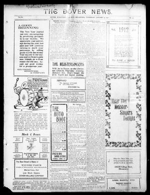 Primary view of object titled 'The Dover News. (Dover, Okla.), Vol. 11, No. 44, Ed. 1 Thursday, January 4, 1912'.