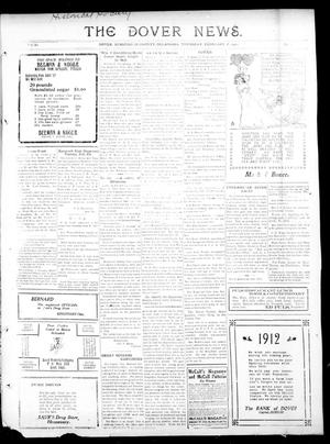 Primary view of object titled 'The Dover News. (Dover, Okla.), Vol. 11, No. 49, Ed. 1 Thursday, February 8, 1912'.