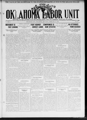 The Oklahoma Labor Unit (Oklahoma City, Okla.), Vol. 3, No. 38, Ed. 1 Saturday, February 24, 1912