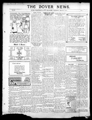 Primary view of object titled 'The Dover News. (Dover, Okla.), Vol. 12, No. 1, Ed. 1 Thursday, March 7, 1912'.
