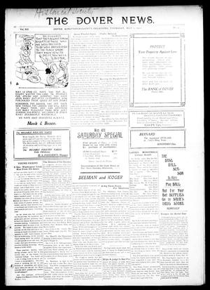 Primary view of object titled 'The Dover News. (Dover, Okla.), Vol. 12, No. 9, Ed. 1 Thursday, May 2, 1912'.