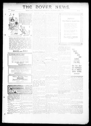 Primary view of object titled 'The Dover News. (Dover, Okla.), Vol. 12, No. 14, Ed. 1 Thursday, June 6, 1912'.