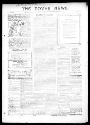 Primary view of object titled 'The Dover News. (Dover, Okla.), Vol. 12, No. 18, Ed. 1 Thursday, July 4, 1912'.