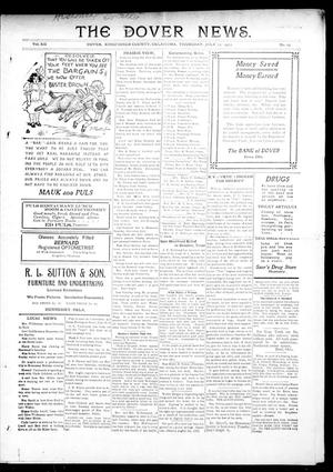 Primary view of object titled 'The Dover News. (Dover, Okla.), Vol. 12, No. 19, Ed. 1 Thursday, July 11, 1912'.