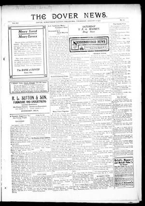 Primary view of object titled 'The Dover News. (Dover, Okla.), Vol. 12, No. 23, Ed. 1 Thursday, August 8, 1912'.