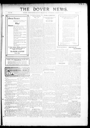 Primary view of object titled 'The Dover News. (Dover, Okla.), Vol. 12, No. 26, Ed. 1 Thursday, August 29, 1912'.