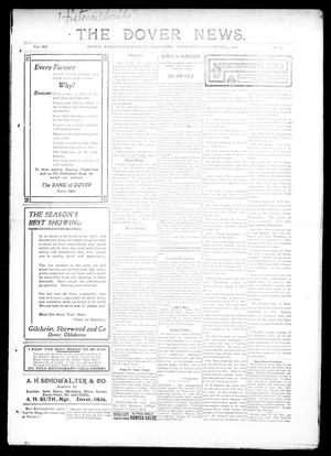 Primary view of object titled 'The Dover News. (Dover, Okla.), Vol. 12, No. 27, Ed. 1 Thursday, September 5, 1912'.