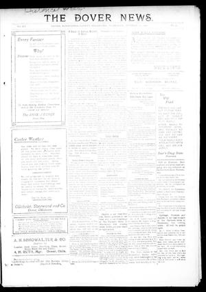 Primary view of object titled 'The Dover News. (Dover, Okla.), Vol. 12, No. 33, Ed. 1 Thursday, October 17, 1912'.