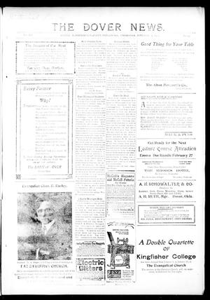 Primary view of object titled 'The Dover News. (Dover, Okla.), Vol. 12, No. 45, Ed. 1 Thursday, January 9, 1913'.