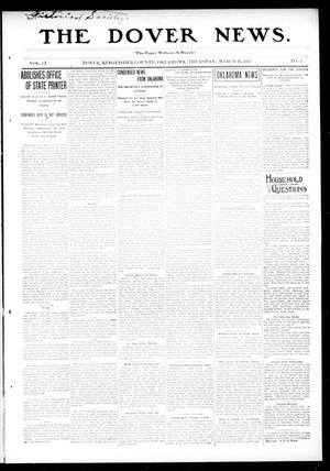 Primary view of object titled 'The Dover News. (Dover, Okla.), Vol. 13, No. 2, Ed. 1 Thursday, March 20, 1913'.
