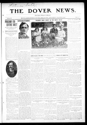 Primary view of object titled 'The Dover News. (Dover, Okla.), Vol. 13, No. 3, Ed. 1 Thursday, March 27, 1913'.