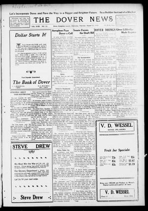 Primary view of object titled 'The Dover News (Dover, Okla.), Vol. 18, No. 12, Ed. 1 Thursday, August 15, 1918'.