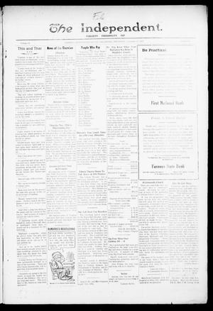 Primary view of object titled 'The Independent. (Cashion, Okla.), Vol. 14, No. 28, Ed. 1 Thursday, November 17, 1921'.