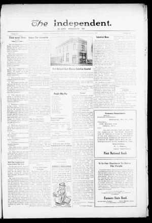 Primary view of object titled 'The Independent. (Cashion, Okla.), Vol. 14, No. 41, Ed. 1 Thursday, February 16, 1922'.