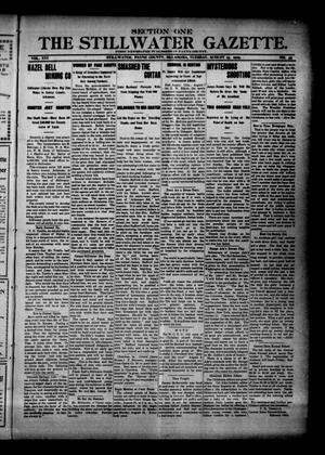 Primary view of object titled 'The Stillwater Gazette. (Stillwater, Okla.), Vol. 16, No. 35, Ed. 1 Tuesday, August 15, 1905'.