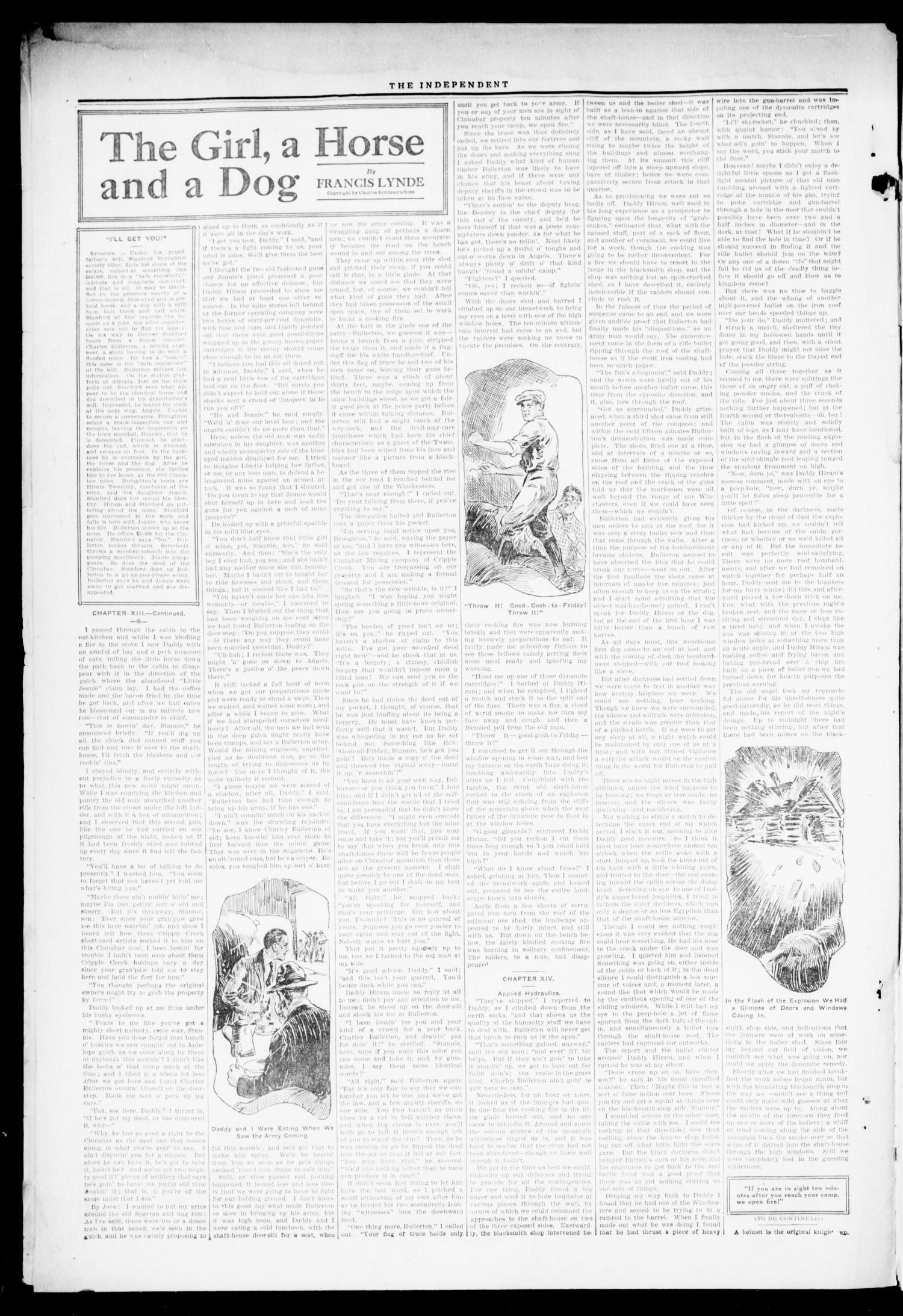 The Independent. (Cashion, Okla.), Vol. 14, No. 45, Ed. 1 Thursday, March 16, 1922                                                                                                      [Sequence #]: 2 of 8